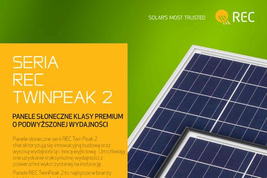 panel fotowoltaiczny REC TwinPeak2