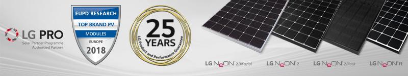 Produkty firmy LG Solar